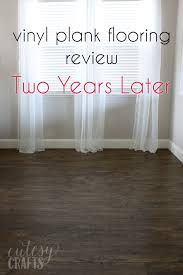 my vinyl plank floor review two years later