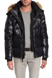 S13 Coat Size Chart S13 Faux Fur Trim Hooded Puffer Jacket Hautelook