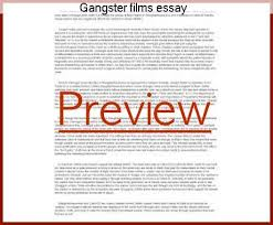 gangster films essay homework writing service gangster films essay