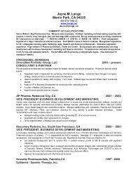 Summary Of Qualifications Sample Resume Marketing New Summary