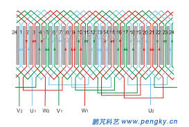 diagram ac motor winding diagram full