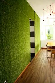 artificial grass wall design ideas