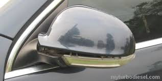 turn signal and blinker light replacement, side view mirror Touareg Rear View Mirror Wire Diagram here is what you're removing Looking into Rear View Mirror