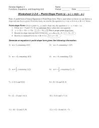 point slope formula linear equations in form ck foundation 1130449