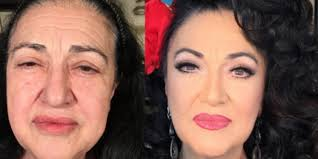 these incredible makeup transformations of older women will your mind