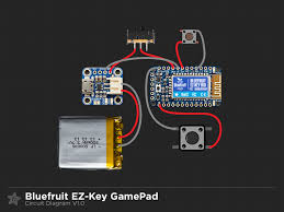 circuit diagram diy bluetooth gamepad adafruit learning system gaming circuit diagram png