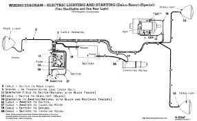 farmall a electrical system the farmall a tractor site 6 Volt Positive Ground Wiring Diagram this is my own modified wiring diagram ih cub 6 volt positive ground wiring diagram