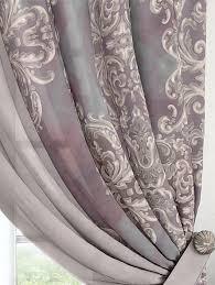 Купить <b>комплект штор</b> «Вэлиос (серо-лавандовый)» серый ...