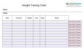 weekly weigh in charts 30 images of weekly exercise chart template leseriail com