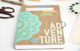 this adventure themed diy notebook is the perfect gift idea for everyone from hostesses to teachers