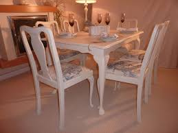 shabby chic dining room furniture. Shab Chic Extendable Dining Table With 6 Chairs Painted Vintage Great Shabby  Sets Shabby Chic Dining Room Furniture