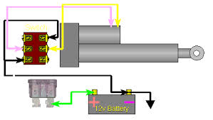 linear actuators wiring diagram