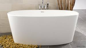 from the new ove collection this bathtub features slender rounded edges accentuated by shapely well defined curves stylish and graceful it nonetheless
