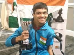 Samarth shines in world chess championship for disabled   Chess News -  Times of India