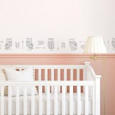 baby room wall paint stencils