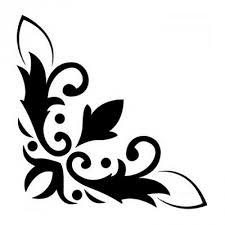 Disegni Stencil Bellissimi Ghirigori Stencil Per Pareti Modelli