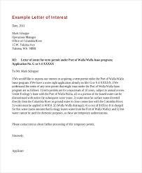 Job Letter Of Interest Job Letter Of Interest Inspirational Sample Letter Of