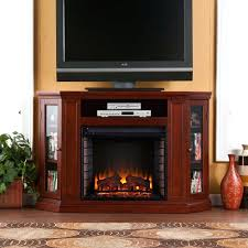 cherry electric fireplace photo 5 of media great ideas entertainment center