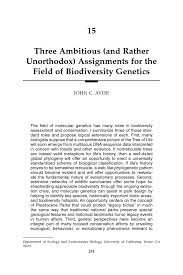 biodiversity essay biodiversity essays bio diversity essay essay  three ambitious and rather unorthodox assignments for the page 281 conserving biodiversity
