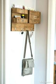 wall mounted mail organizer mail organizer wall wall mail organizer with space for keys files and