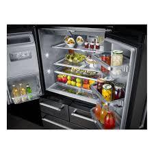 Kitchen Aid French Door Krmf706ess Kitchenaid 36 258 Cu Ft Multi Door Refrigerator