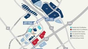 Where To Park At Suntrust Park Braves Stadium Parking Lots