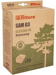 <b>Filtero</b> SAM 03 ECOLine XL, 10 шт. + фильтр, <b>мешки</b> ...