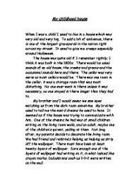 childhood essay ccma acmc childhood essay