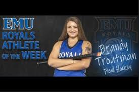Troutman earns All-State honors - EMU News