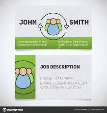 Business Card Print Templates Stock Vector Bsd 153459462