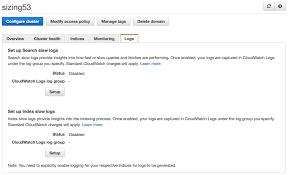 Viewing Amazon Elasticsearch Service Slow Logs Aws