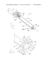 Actuator for aircraft engine nacelle diagram schematic and