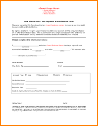 payment authorization form one time credit card payment authorization form 1 png
