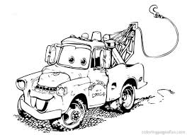 Cars Coloring Pages To Print Coloring Pages Cars Free L