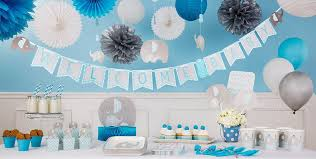 blue baby elephant baby shower decorations party city canada