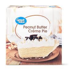 Add all ingredients to shopping list. Great Value Peanut Butter Creme Pie 24 Oz Walmart Com Walmart Com