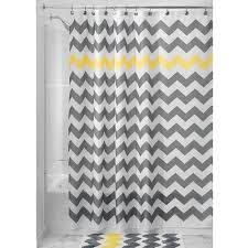 uncategorized grey chevron shower curtains incredible chevron bathroom decor image of grey shower concept and gray curtain target style