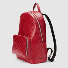 gucci backpack. gucci signature leather backpack detail 2