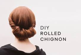 Chingon Hair Style diy rolled chignon hair tutorial wedding hairstyles from once 6662 by wearticles.com