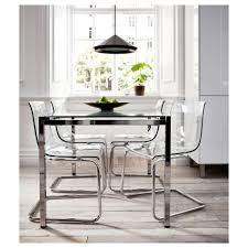 terrific chairs furniture clear plastic dining chairs ikea uk