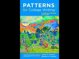 Patterns For College Writing Awesome Patterns For College Writing 48th Edition Pdf Selolinkco
