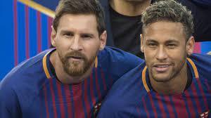 نيمار: ميسي يرحب بعودة النجم البرازيلي الى برشلونة - BBC News عربي