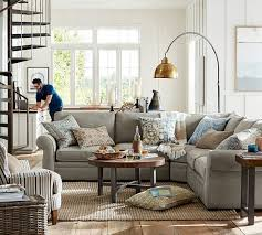 ... Pottery Barn Living Room Unique Design Hunky Wool Jute Rug Natural ...