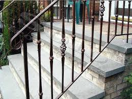 Exterior Iron Stair Handrail Catarsisdequiron Iron Handrails For Outdoor Stairs