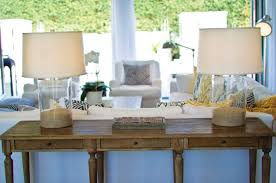 Sofa Tables Console Table Decor Behind Sofa Home Design Ideas How