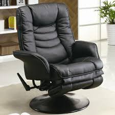 image of recliners casual leatherette swivel recliner in reclining gaming chair reclining gaming chair comfort