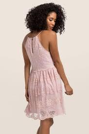 Blush Gisela Lace Dress Francesca S