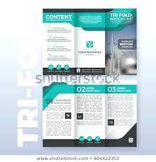 Free Retro Multipurpose Brochure Template Tri Fold Word Mac