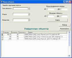 АИС агентства недвижимости Реалтекс АРМ Риэлтор ms sql  дипломная работа по програмированию