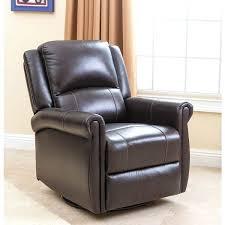 dark brown leather recliner chair. gliding leather chair dark brown nursery swivel glider recliner rocking n
